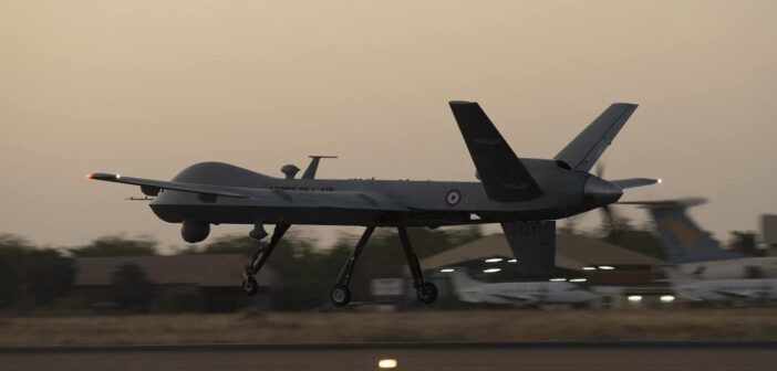French MQ-9 Equipped with General Atomics SAR