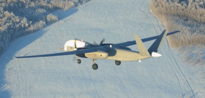 Russia's SAR Drone Takes Flight