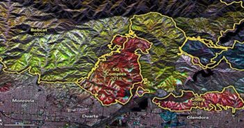 SAR Takes a Long Look at California Forest Fire Damage and Regrowth